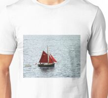 Red Sails in Falmouth Harbour Unisex T-Shirt