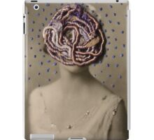 Water Woman, embroidered photo iPad Case/Skin