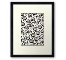 Wise - Pattern  Framed Print
