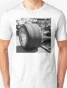 Vintage racing car tire T-Shirt