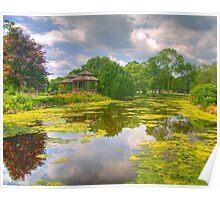 Lakeside Park Lagoon Poster