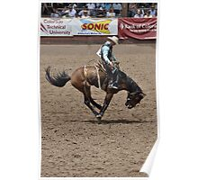 Saddle Bronc 1 Pikes Peak or Bust Rodeo Poster