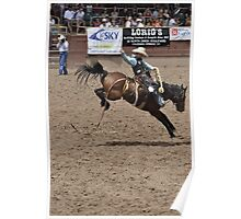 Saddle Bronc 2 Pikes Peak or Bust Rodeo Poster