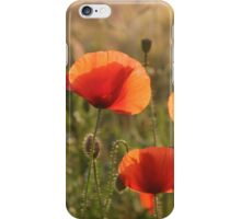 Coquelicots (poppies) iPhone Case/Skin