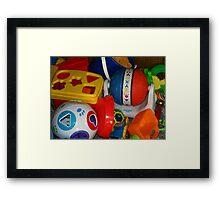 toy bunch Framed Print
