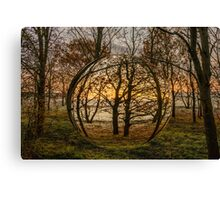 Woodland Orb Canvas Print