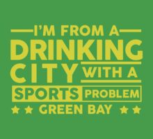 Drinking City With A Sports Problem - Green Bay by jephrey88