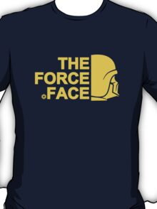 The Force Face (yellow) T-Shirt