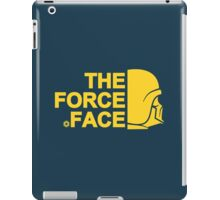 The Force Face (yellow) iPad Case/Skin