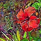Somewhere... In The Garden by jean-louis bouzou
