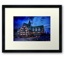 Prince of Wales Hotel, Alberta Framed Print