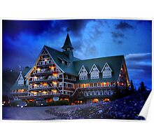 Prince of Wales Hotel, Alberta Poster