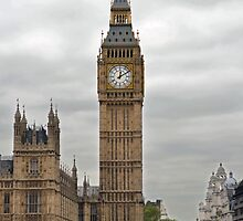 Big Ben - Elizabeth Tower, Palace of Westminster by Chris Monks