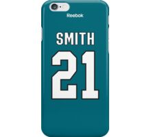 San Jose Sharks Ben Smith Jersey Back Phone Case iPhone Case/Skin