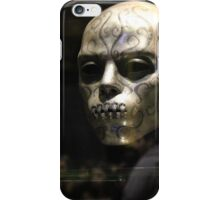Death Eater Mask iPhone Case/Skin
