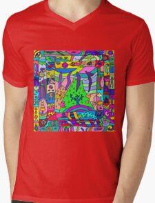 Abstract 14 Mens V-Neck T-Shirt