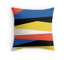 Block Color Throw Pillow