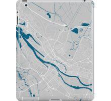 Bremen city map grey colour iPad Case/Skin