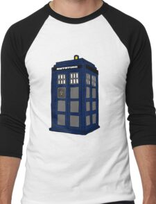 Hill Valley Time Lord Men's Baseball ¾ T-Shirt