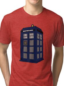 Hill Valley Time Lord Tri-blend T-Shirt