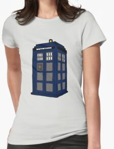 Hill Valley Time Lord Womens Fitted T-Shirt