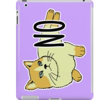 NO - Feminist Cat iPad Case/Skin