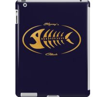 Mooney's club iPad Case/Skin
