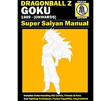 Gohan Manual SSJ3 Version Photographic Print