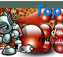 DeviantsRedbubblers - Top 10 banner by Fiery-Fire