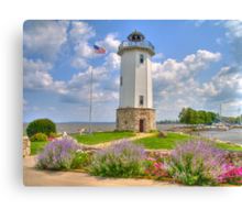 Lakeside Lighthouse  Canvas Print