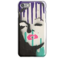 Abstract Monroe iPhone Case/Skin