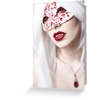 Drops of Blood Greeting Card