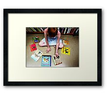 children's books Framed Print
