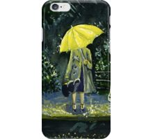 Yellow umbrella part 2 iPhone Case/Skin
