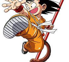 Dragonball Goku by AsShirts
