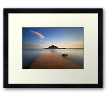 Late Light Framed Print