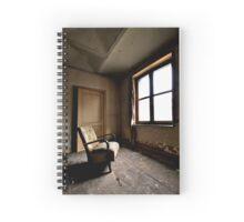 Window seat in Hell Spiral Notebook