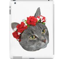 Flower Crown Loki iPad Case/Skin