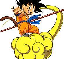 Dragonball Goku Cloud by AsShirts
