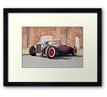 1928 Ford Coupester 'Willard the Rat Rod' Framed Print