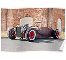 1928 Ford Coupester 'Willard the Rat Rod' Poster
