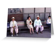 Korean Generations Greeting Card