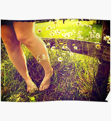 barefoot summer Poster