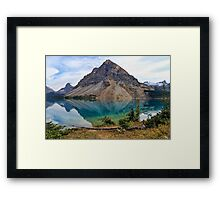 Crowfoot Mountain, Banff NP Framed Print