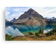 Crowfoot Mountain, Banff NP Canvas Print