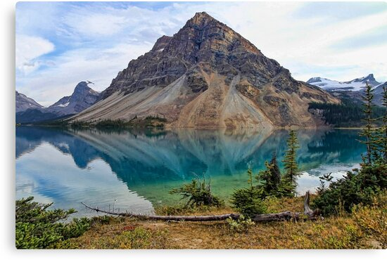 Crowfoot Mountain, Banff NP by Teresa Zieba