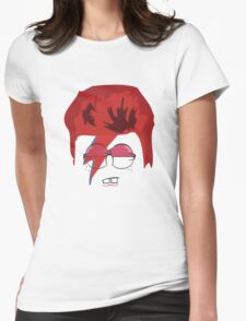 Spongy Stardust Womens Fitted T-Shirt