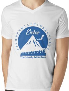 Erebor Mens V-Neck T-Shirt