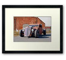 1935 International Harvester Pickup 'Barn Rat' Framed Print