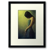 Silent Grief Framed Print